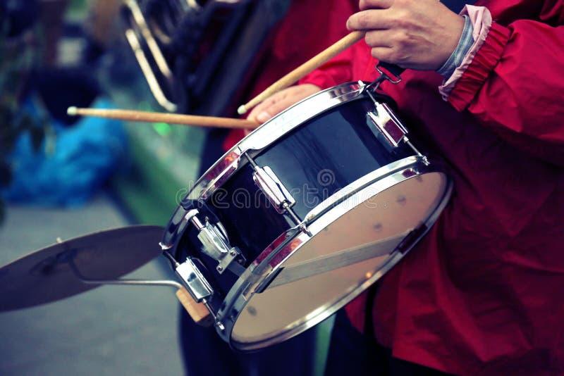 Prestaties van een jazzband royalty-vrije stock foto