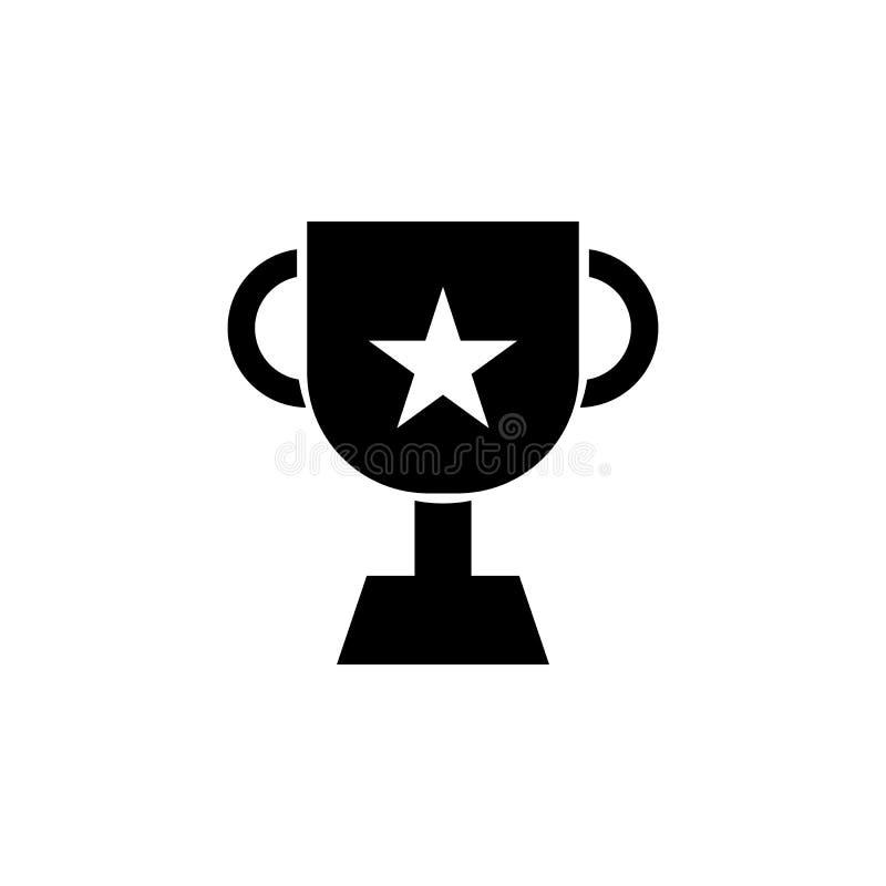 Prestation utmärkelse, prissymbol Tecknet och symboler kan användas för rengöringsduken, logoen, den mobila appen, UI, UX vektor illustrationer