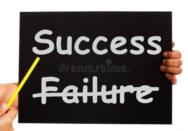 Prestationer eller rikedom för framgångbrädevisning royaltyfri illustrationer