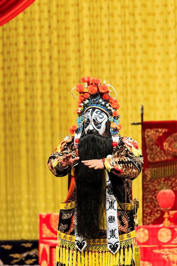 Prestazione di opera di Pechino immagine stock