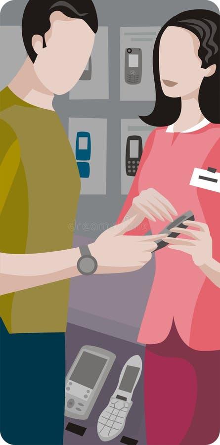 Preste serviços de manutenção à série da ilustração ilustração royalty free