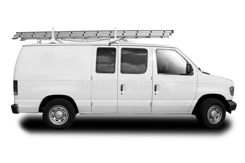 Preste serviços de manutenção a Van fotos de stock royalty free