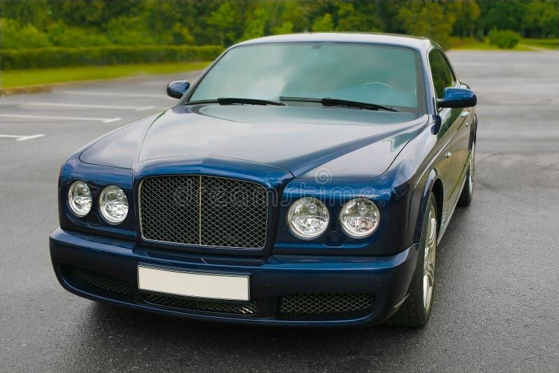 Prestigious car royalty free stock image