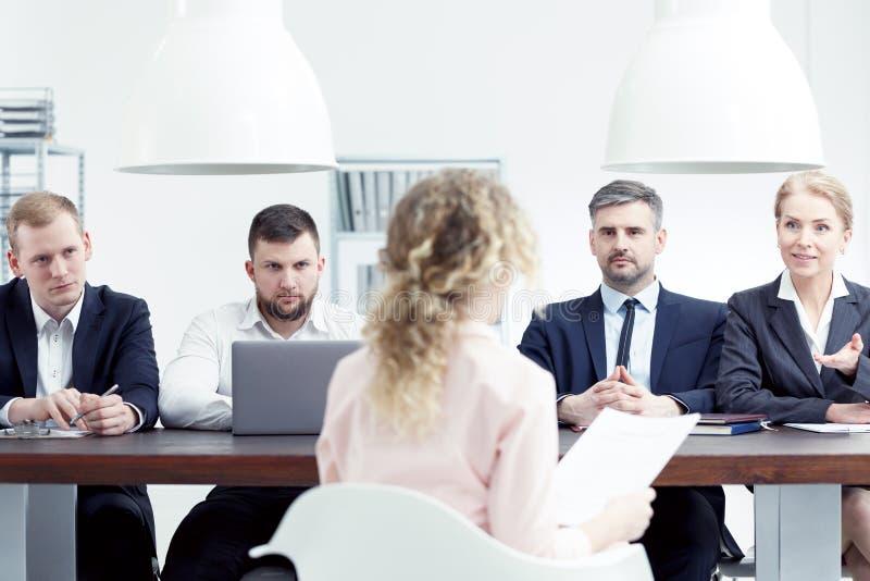 Prestigious company hiring stock photos