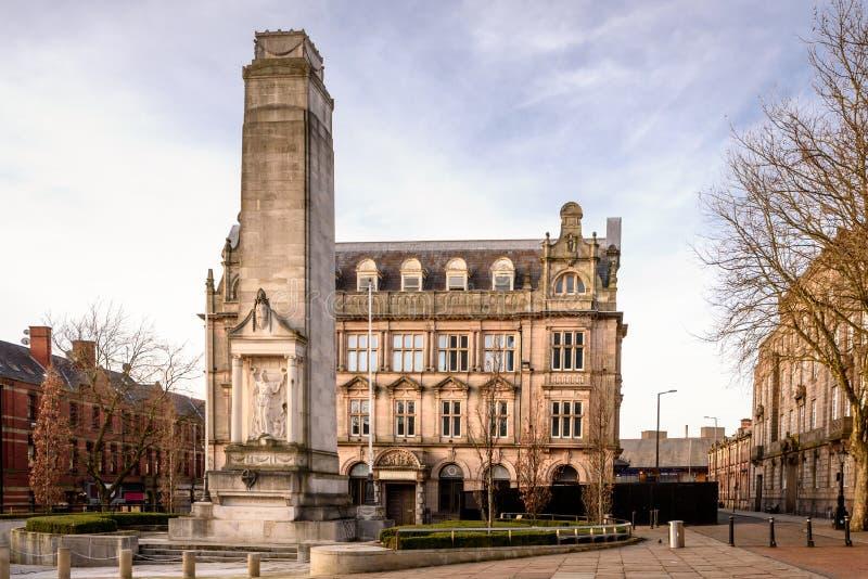 Preston Lancashire Reino Unido imagen de archivo libre de regalías