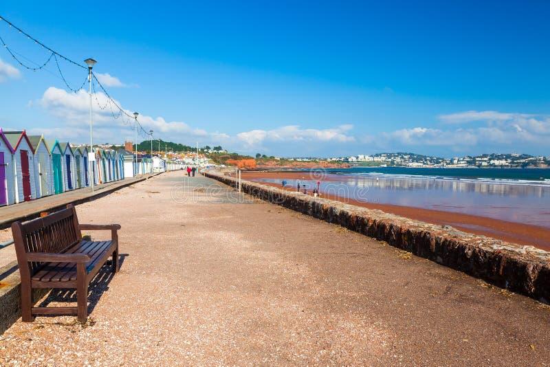 Preston piaski Plażowy Devon Anglia fotografia stock