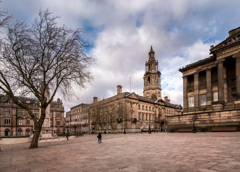 Preston Town Lancashire, Inglaterra imagen de archivo libre de regalías