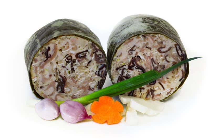 Presunto principal vietnamiano da carne de porco imagem de stock royalty free
