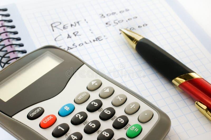 Presupuesto imagen de archivo