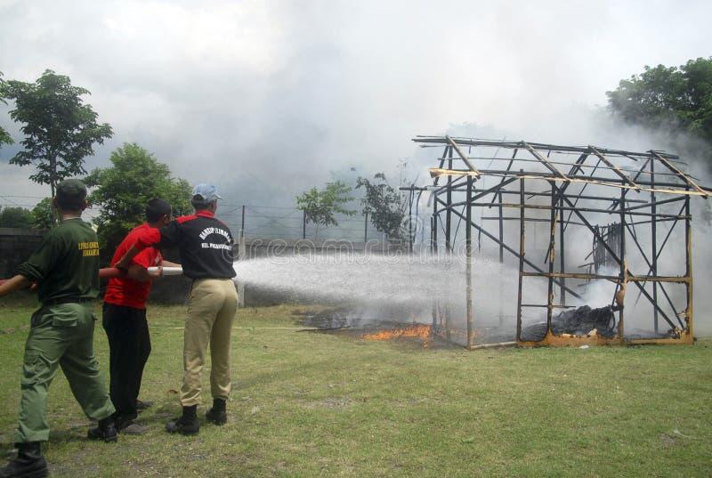 PRESUPUESTO DE LA GESTIÓN DE DESASTRES DE INDONESIA imagen de archivo