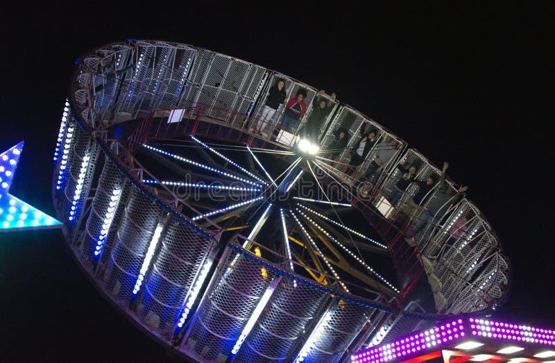 Pret Eerlijke Ringwood Hampshire op Carnaval-Dag royalty-vrije stock foto