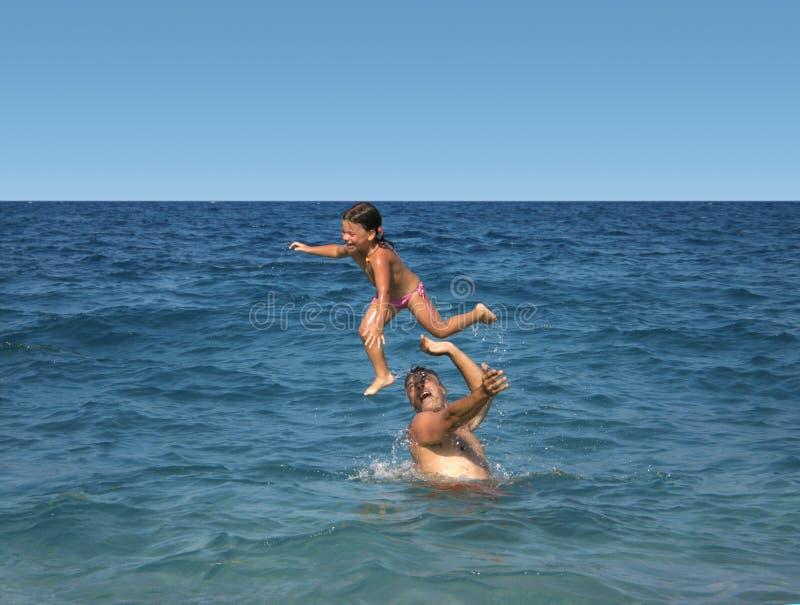 Pret in vakantie stock foto's