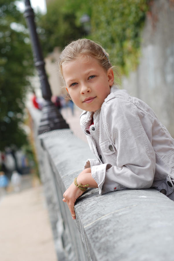 Download Preteen Girl In The Park. Royalty Free Stock Photography - Image: 22054547