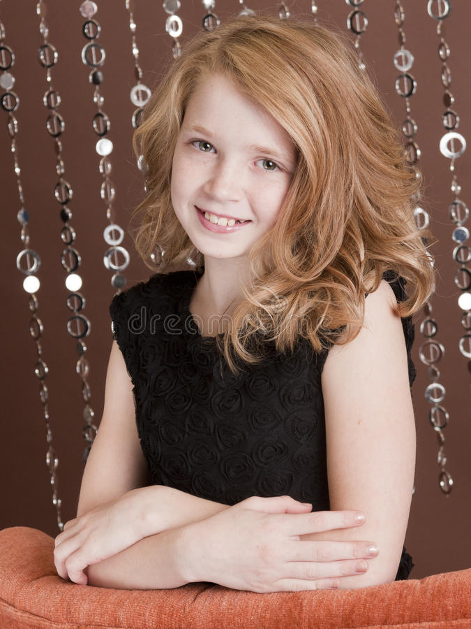 Preteen Model 4 Royalty Free Stock Photos