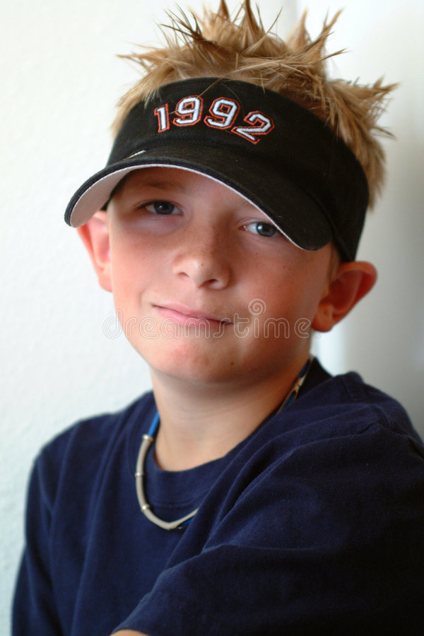 Download Preteen - Spike Hair stock image. Image of attractive, teen - 114613