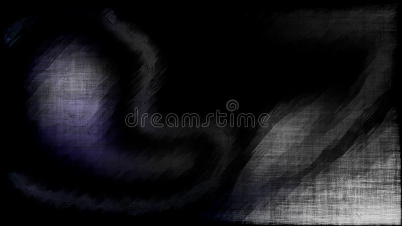 Preto abstrato e fundo elegante bonito do projeto da arte gráfica da ilustração de Grey Grunge Texture Background Image ilustração stock
