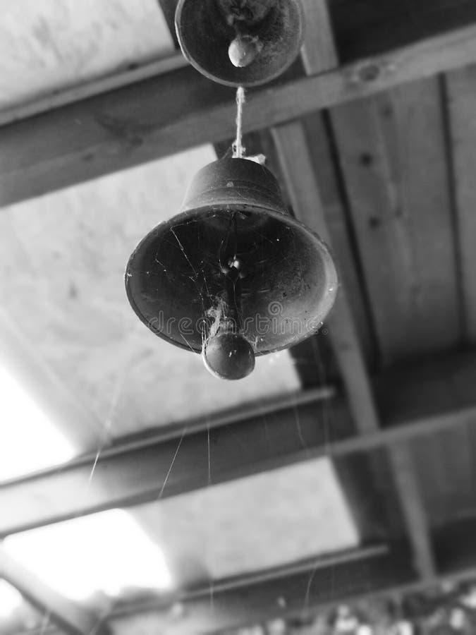 Preto & branco de Bell foto de stock
