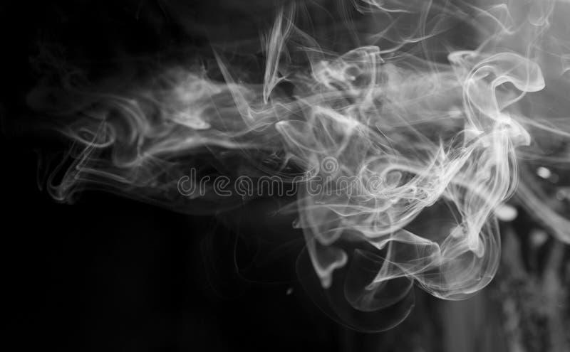 Preto de fumo imagem de stock