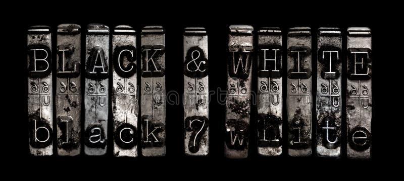 Preto e branco fotografia de stock royalty free