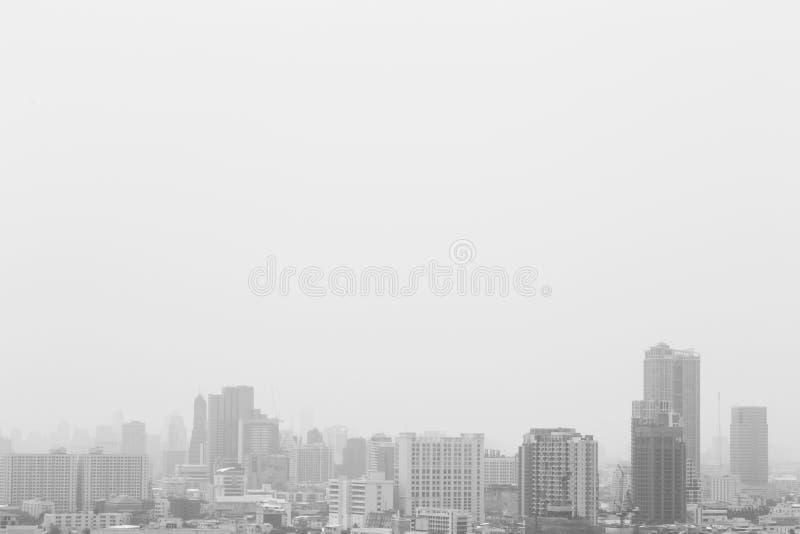 Preto e branco da cidade imagens de stock royalty free