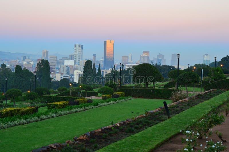 Pretoria Tshwane administrativ huvudstad av Sydafrika royaltyfria bilder
