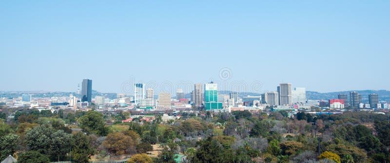 Pretoria van de binnenstad, Gauteng, Zuid-Afrika royalty-vrije stock afbeelding