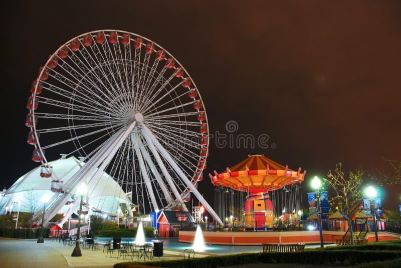 Pretpark stock fotografie