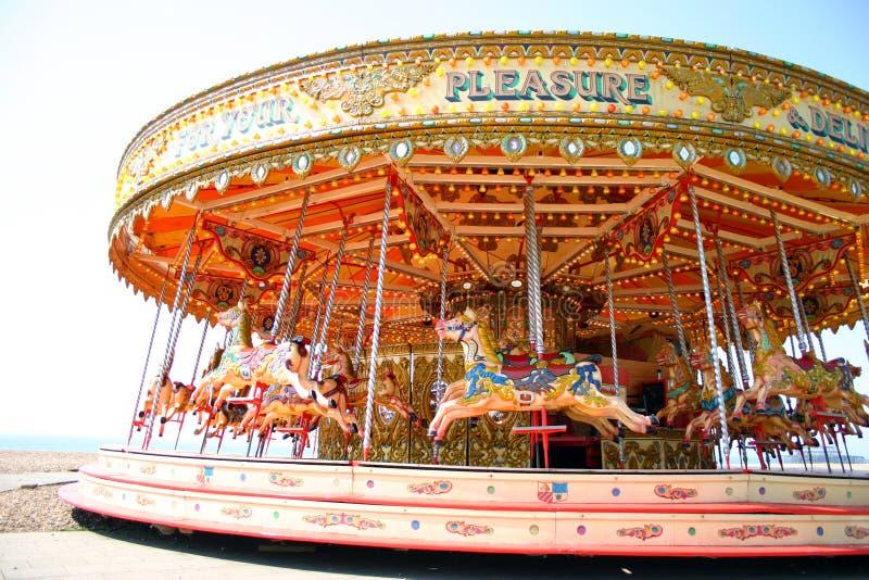 Pretpark royalty-vrije stock afbeelding