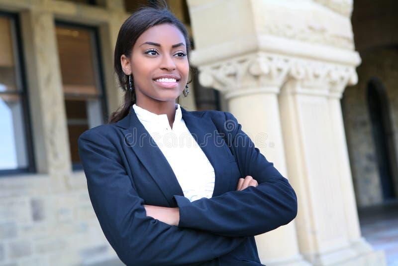 Pretty African University Student stock photos
