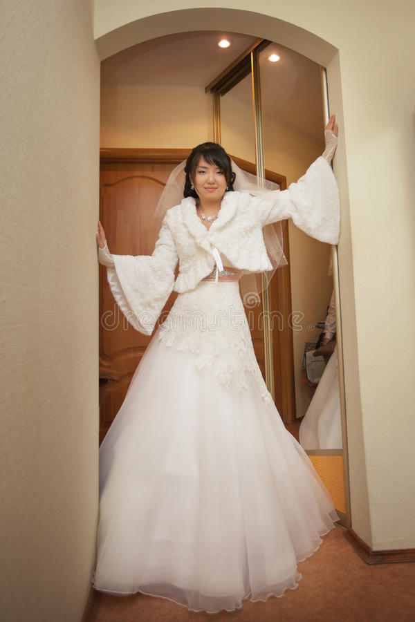 Pretty Asian Bride Stock Image