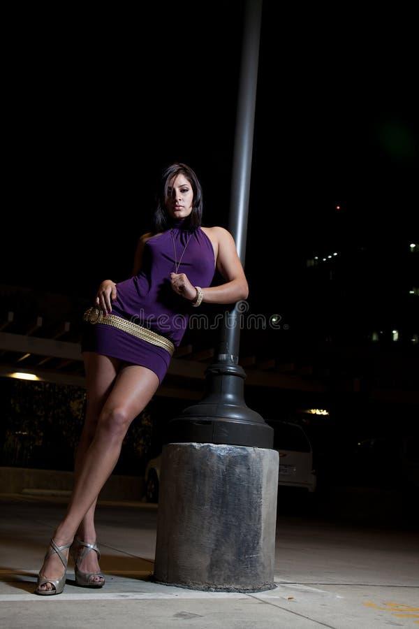 Pretty attractive hispanic american woman royalty free stock photography