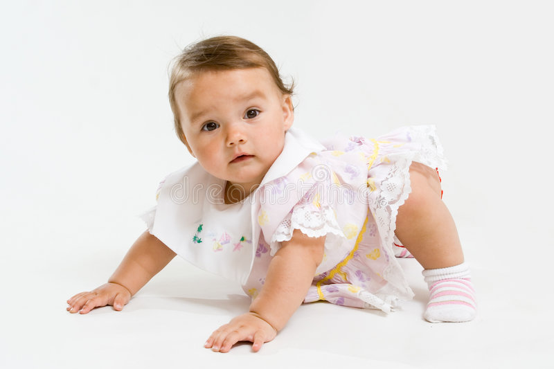 Pretty baby stock photography