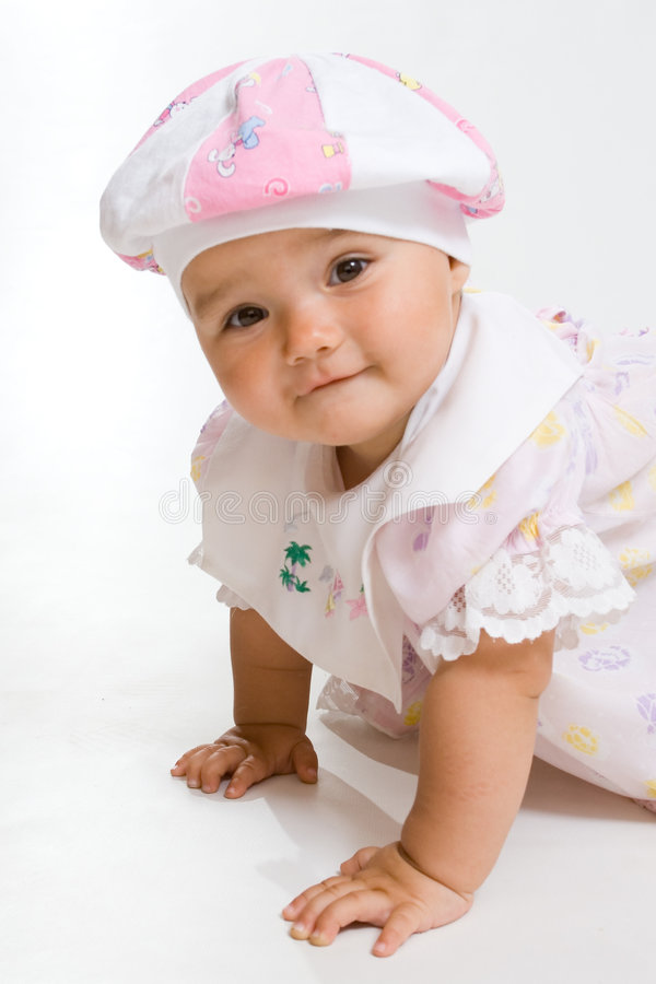 Pretty baby stock photos