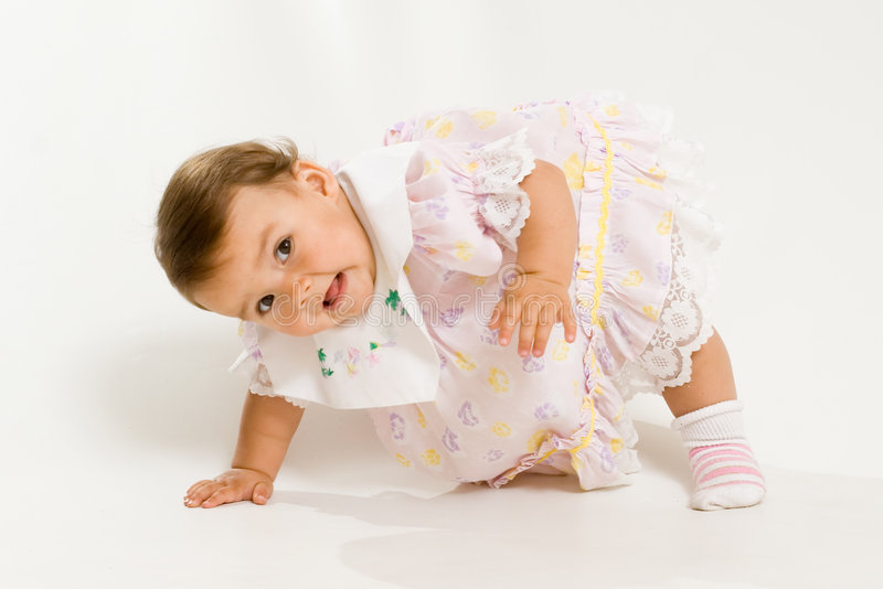 Pretty baby royalty free stock photography