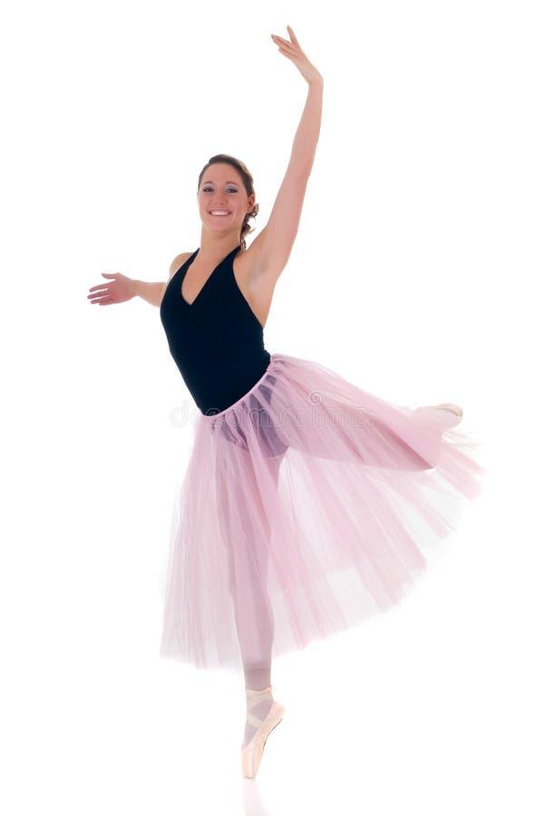 Pretty ballerina royalty free stock photo