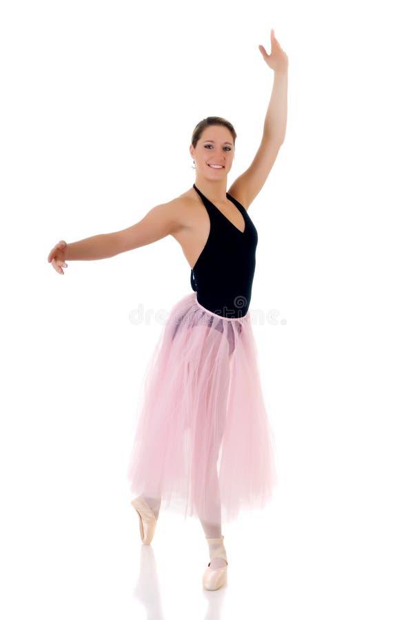 Pretty ballerina stock photography