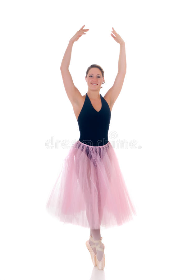 Pretty ballerina royalty free stock images