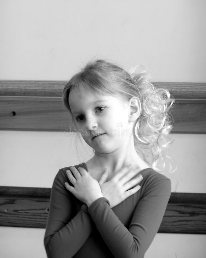 Pretty Ballerina Dancer 2 stock image