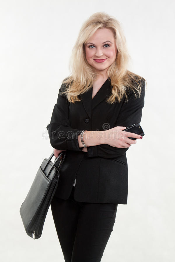 Download Pretty Blond Caucasian Businesswoman Stock Image - Image: 22124621