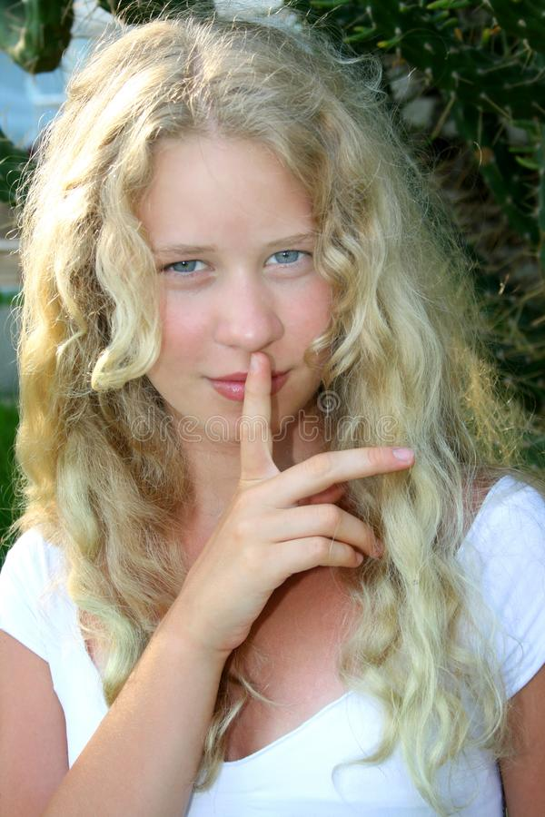 Download Pretty blond girl stock photo. Image of looking, elegance - 8728650