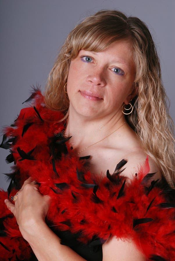 Pretty Blond Woman. Royalty Free Stock Photo