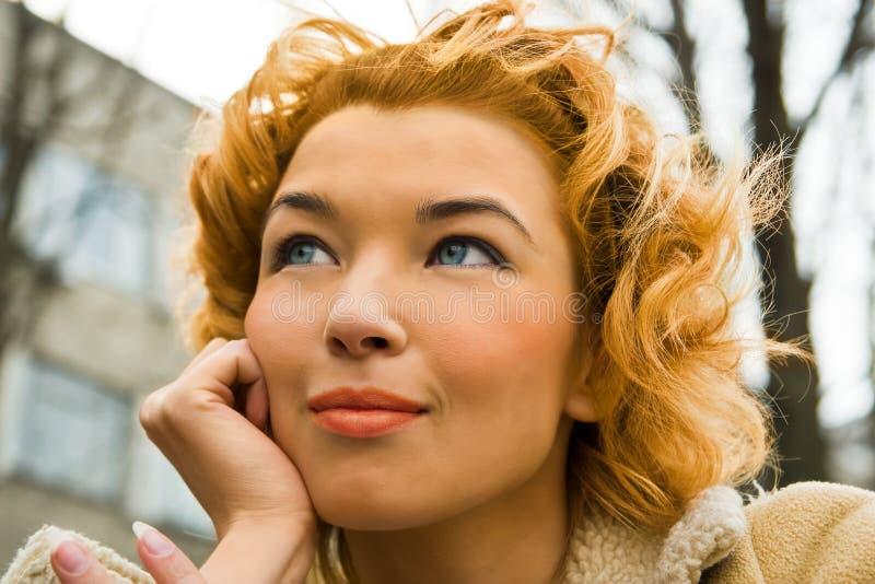 Pretty Blonde Stock Image