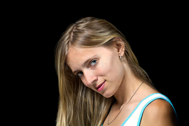 Pretty Blonde Girl Royalty Free Stock Image