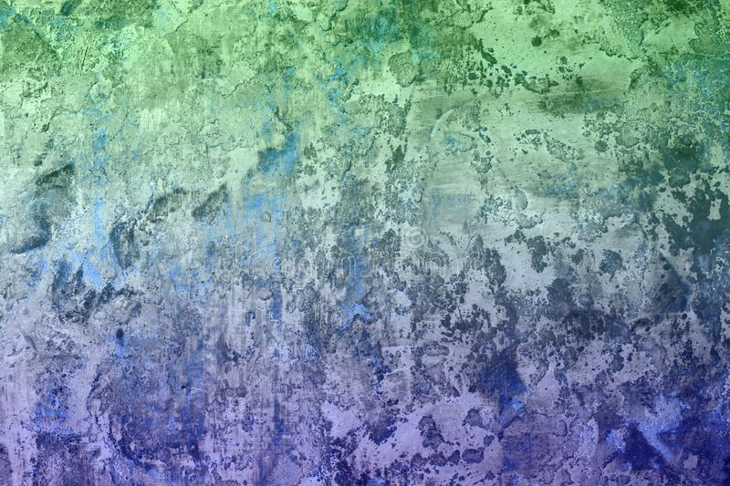 Blue very much striped surface plaster texture - cute abstract photo background. Pretty blue very much loft wall stucco texture - abstract photo background royalty free illustration