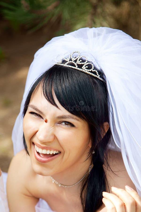 Pretty Bride Stock Image