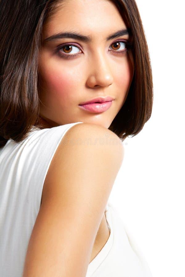 Pretty Brunette Stock Photos