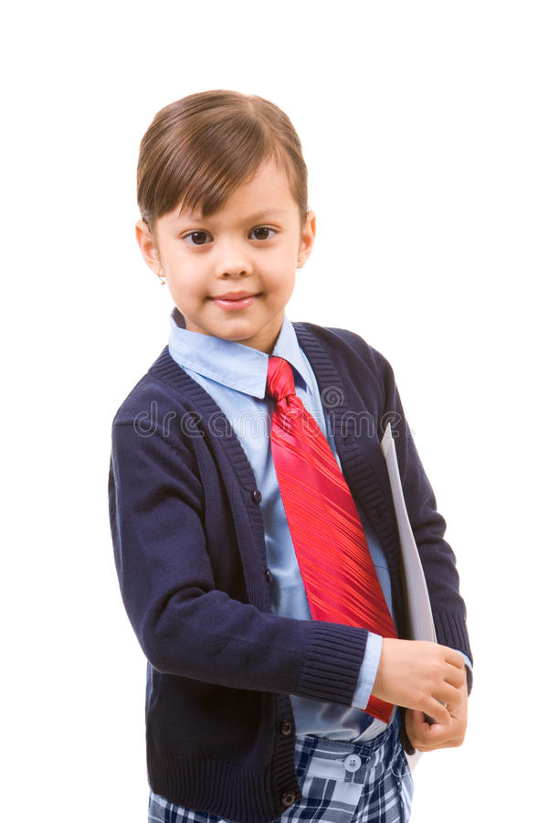 Pretty business girl stock images