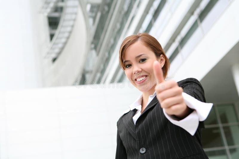 Pretty Business Woman royalty free stock photo