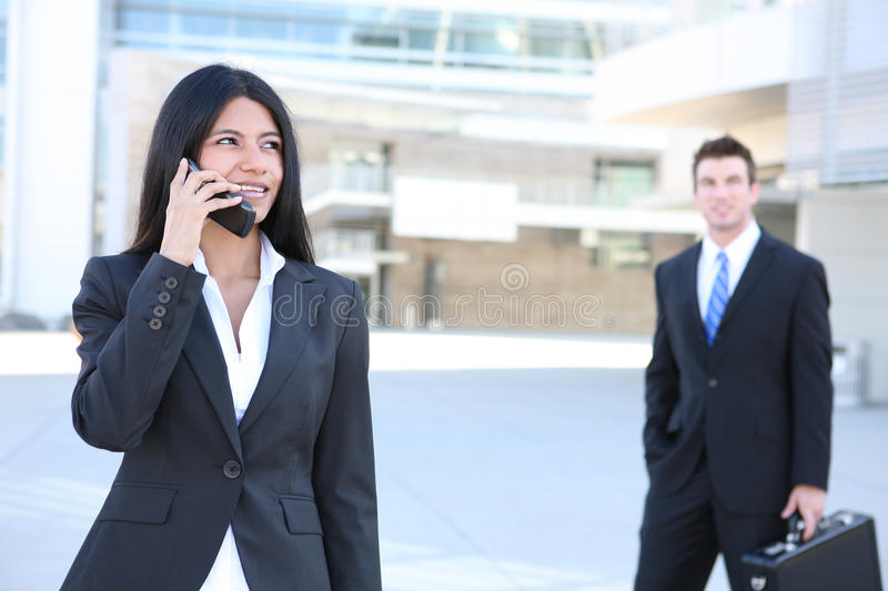 Download Pretty Business Woman On Phone Stock Image - Image of business, leadership: 16917365