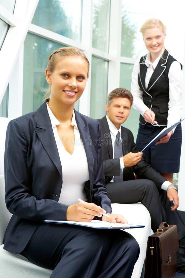 Download Pretty Businesswoman Stock Image - Image: 15940561